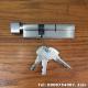 Ruột khóa cửa nhôm Cmech 1 bên chìa