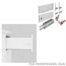 Ray hộp Hafele S3 chức năng nhấn mở màu trắng 552.55.704