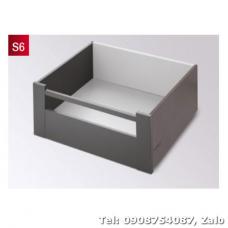 Ray hộp Hafele S6 chức năng giảm chấn Màu Xám 552.55.308