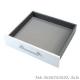 Tấm lót hộc tủ bếp Solid – Màu xám bạc 547.92.413